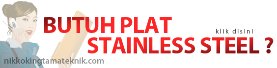 Butuh Plat Stainless Steel ?