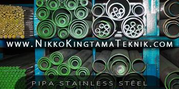 Tersedia Beragam Pipa Stainless Steel di Glodok Jakarta Indonesia