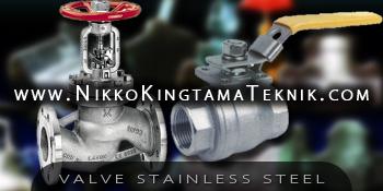 Toko Supplier Valve Stainless Steel di Glodok Jakarta